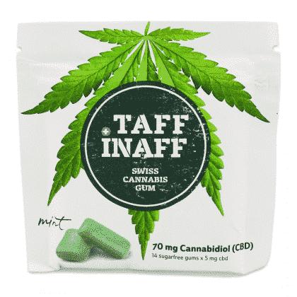 Cannabis Kaugummi TAFF INAFF