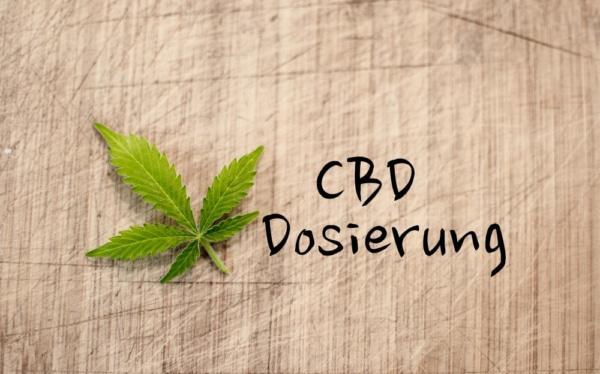 CBD Dosierung
