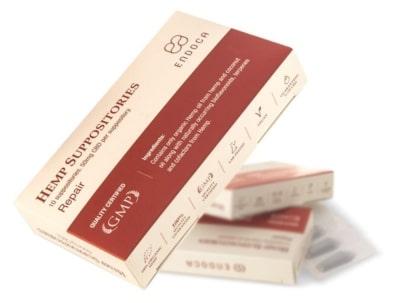 CBD-Zaepfchen von Endoca