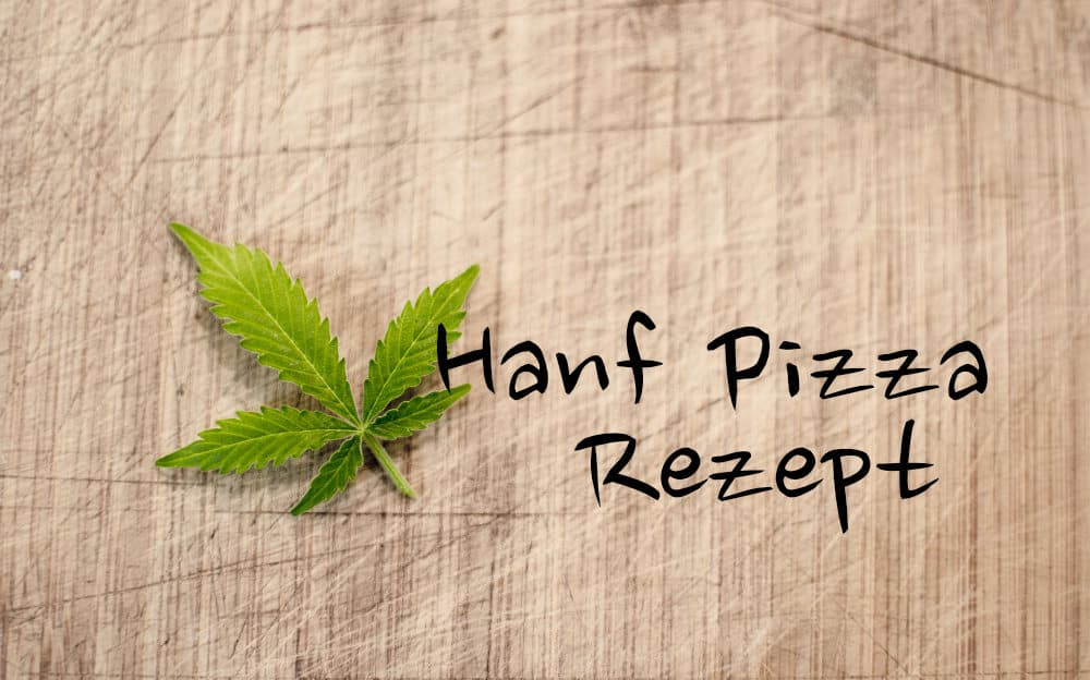 Hanf-Pizza Rezept