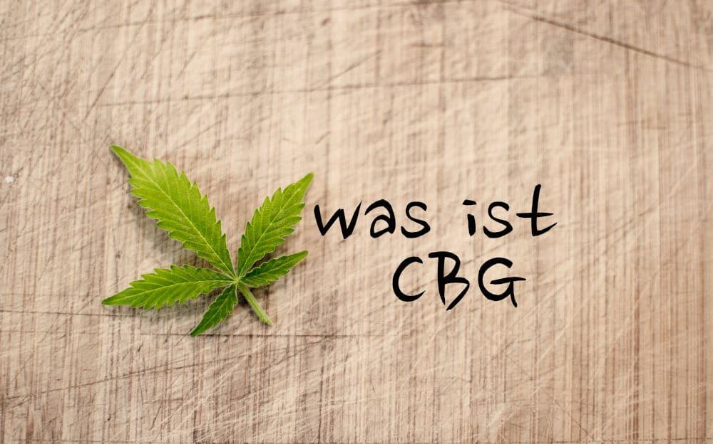 Was-ist CBG?