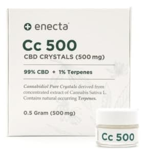 Enecta CBD-Kristalle Test