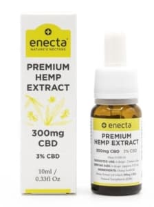 Enecta-Premium Hemp Extract 300mg CBD