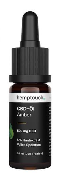 Hemptouch-Amber CBD-Öl