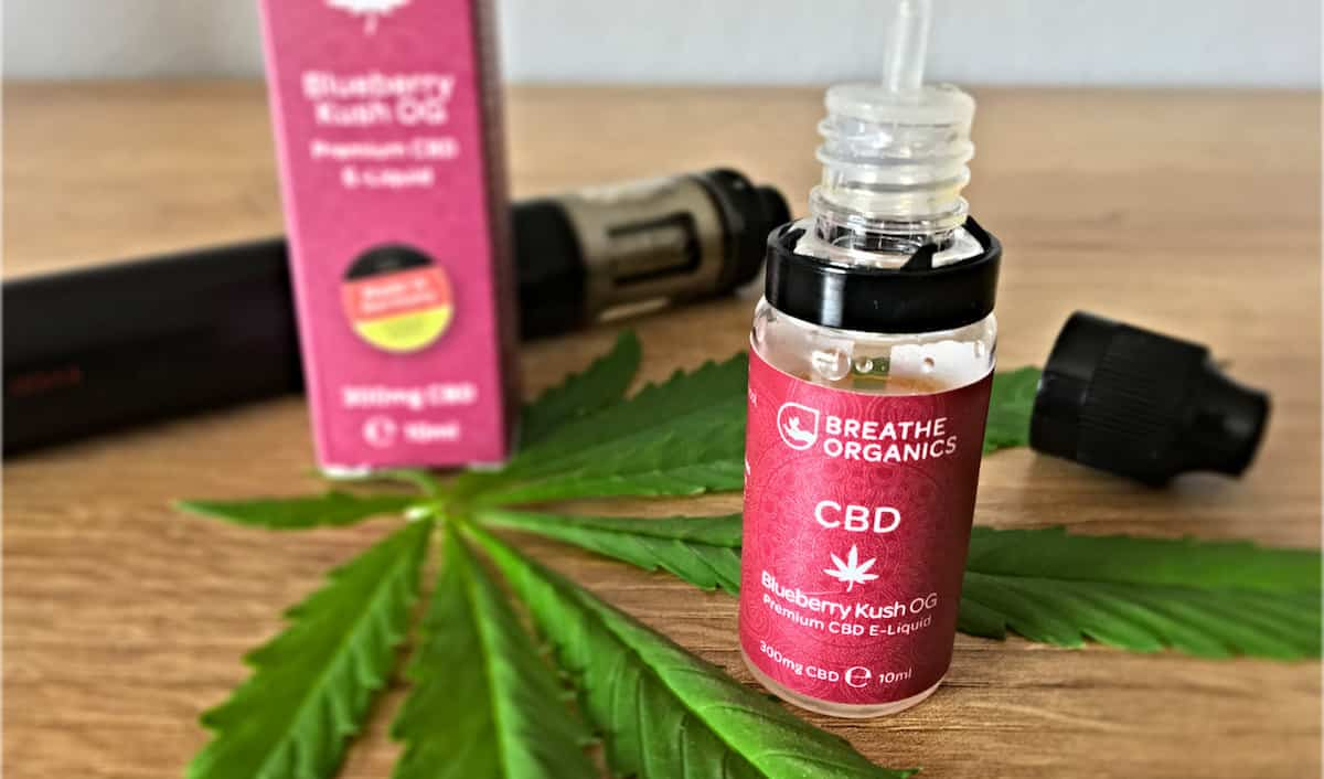 Breathe Organics CBD Liquid Test