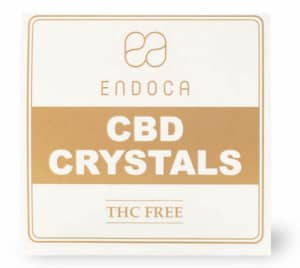 Endoca-CBD Kristalle Test