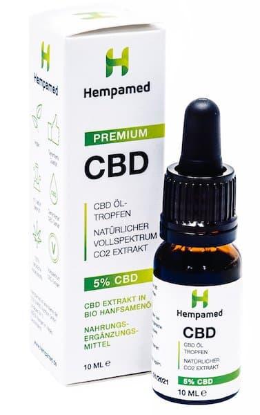 Hempamed Premium CBD-Öl