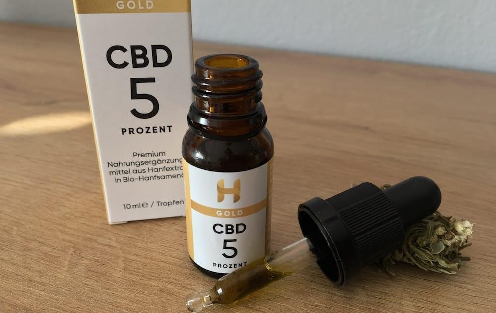 Hempamed Gold Test