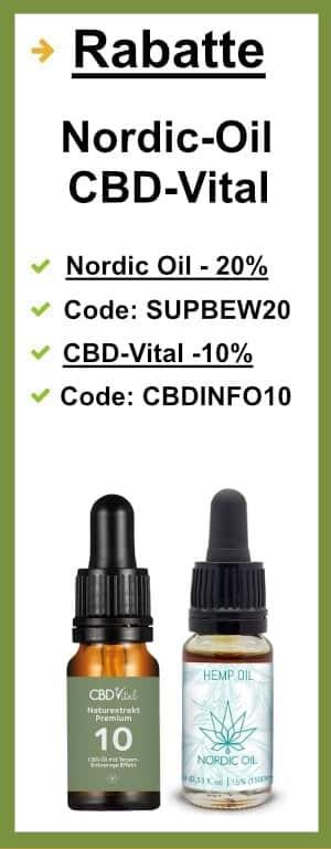 CBD Öl Rabatte