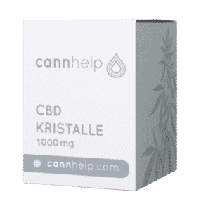 Cannhelp CBD Kristalle Test