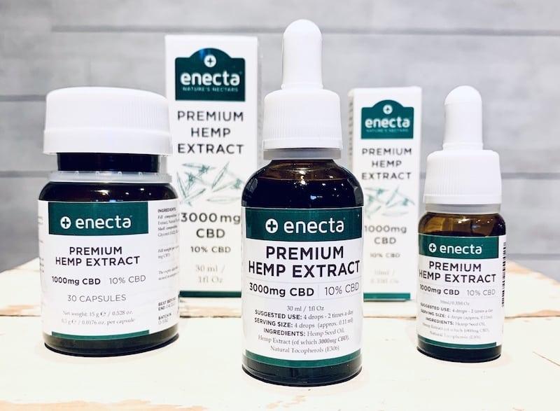 Das CBD Sortiment von Enecta