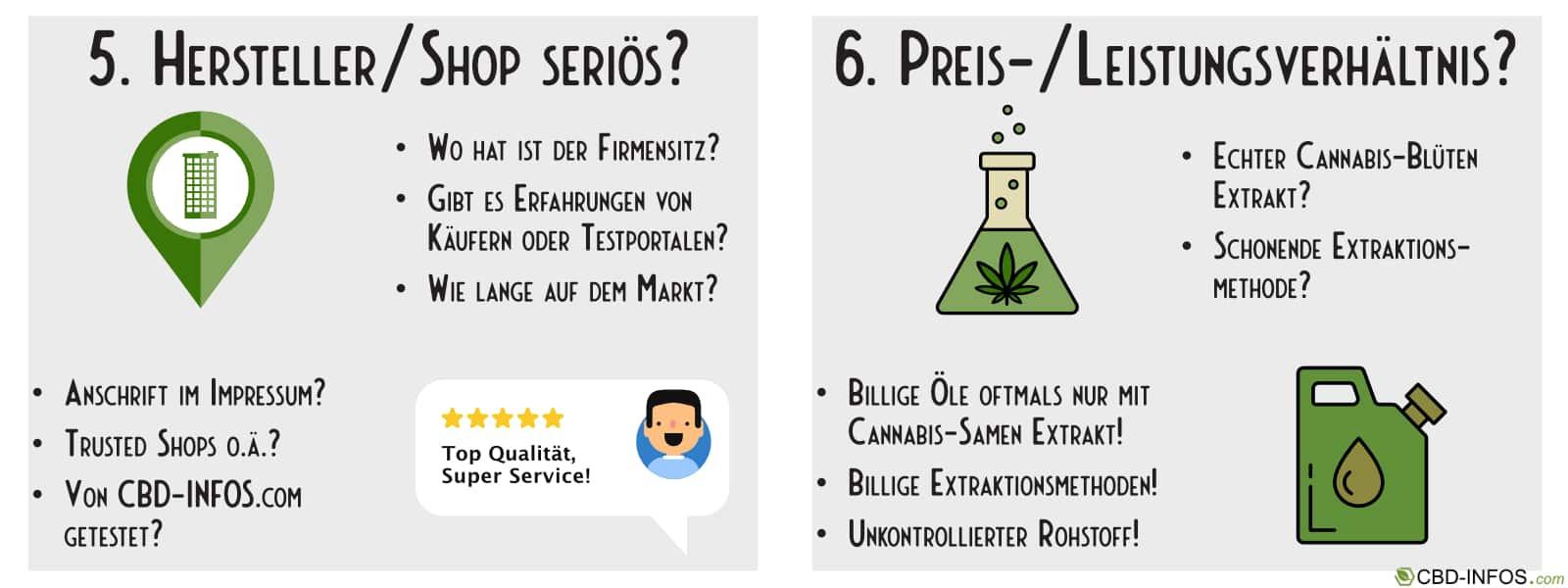 Was ist beim CBD Öl kaufen zu beachten