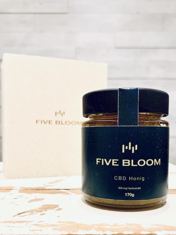 FiveBloom CBD-Honig Test