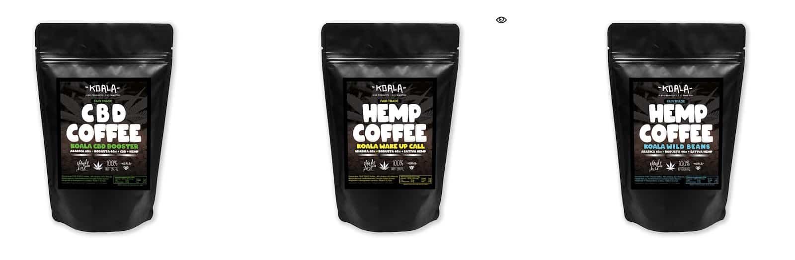 Koala CBD-Kaffee