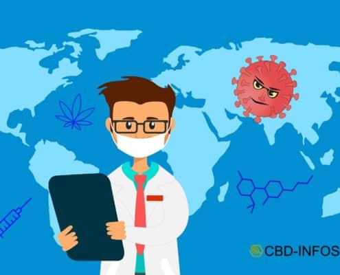 Wirkung von CBD mit Antibiotikum
