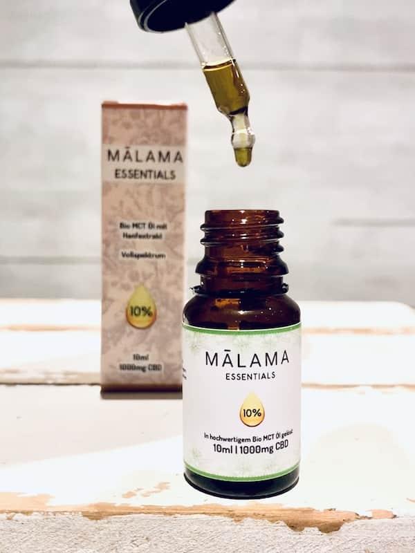 Malama Essentials CBD Öl Test