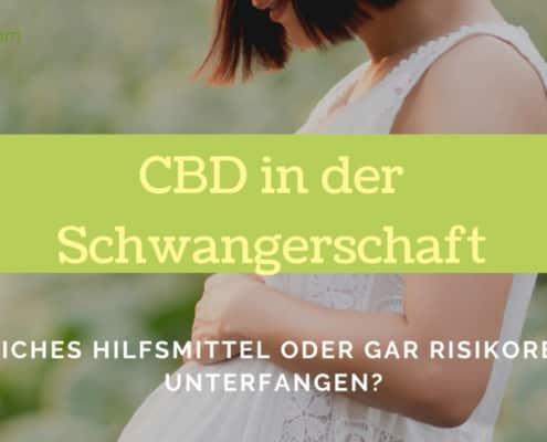 CBD in der Schwangerschaft