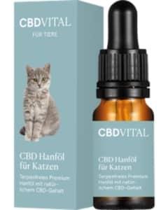CBD Öl für Katzen von CBD Vital ohne Terpene