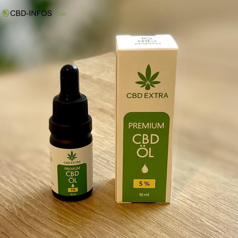 CBD Exrtra CBD Öl Test