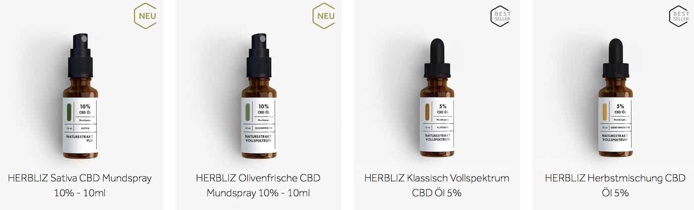 Herbliz CBD Öl Test
