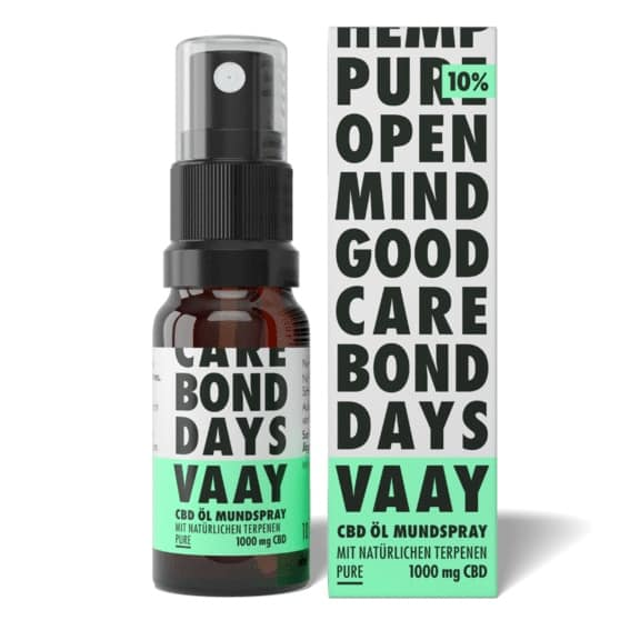 VAAY CBD Öl Mundspray Test