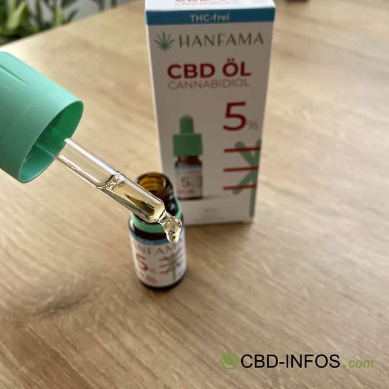 Hanfama CBD Öl Test