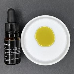 Kiara Naturals Vollspektrum CBD Öl Geschmack Geschmack