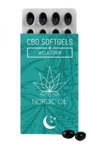 CBD Kapseln mit Melatonin von Nordic Oil