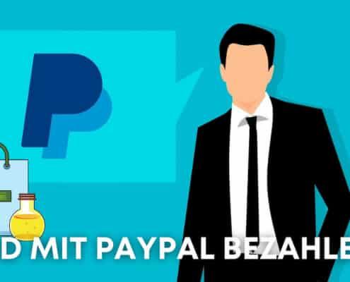 Kann man CBD Produkte mit Paypal bezahlen?