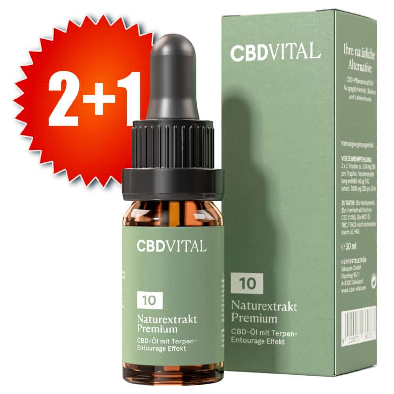 CBD Vital Naturextrakt Premium 10 Prozent