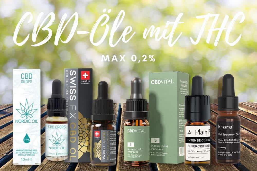 CBD Öl mit THC