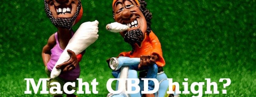 Macht CBD wirklich high?
