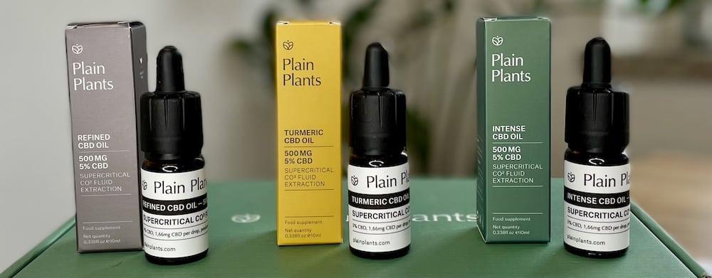 Plainplants CBD-Öle