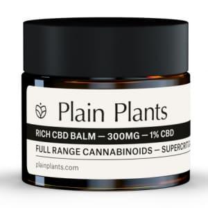 Plain Plants rich CBD Balm Test