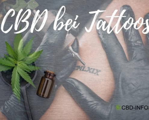 CBD bei Tattoos und Tätowierungen