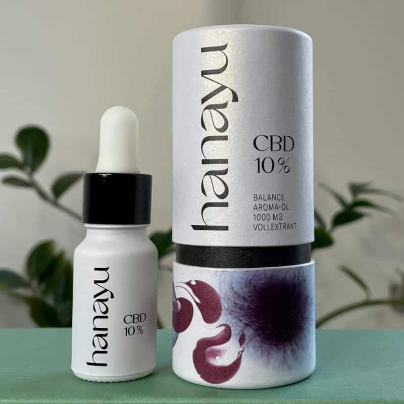 Hanayu 10% CBD Öl
