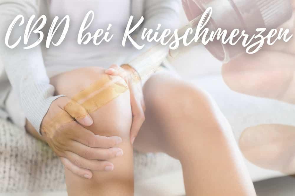 CBD bei Knieschmerzen - Wirkung